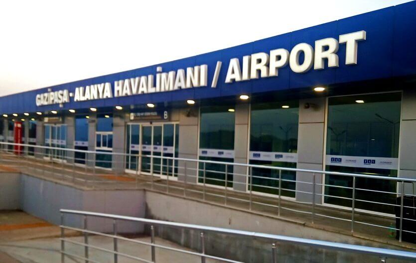 аэропорт аланьи турция