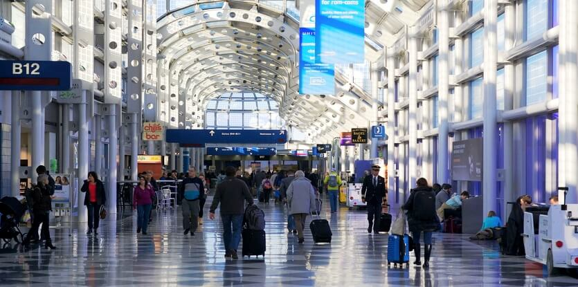 аэропорт о'хара чикаго