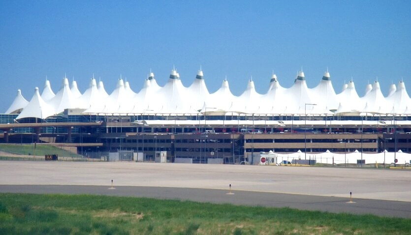 аэропорт в денвере сша