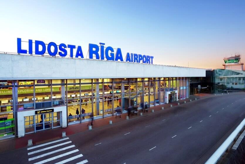 аэропорт рига латвия