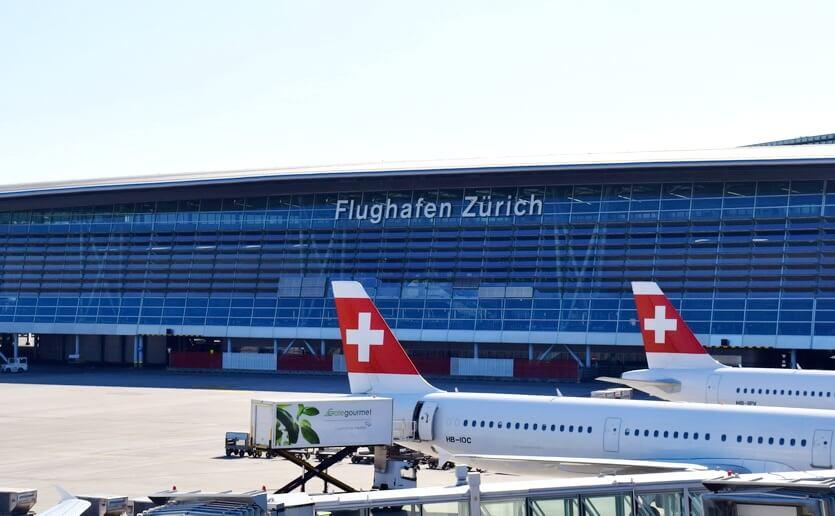 аэропорт цюриха швейцария