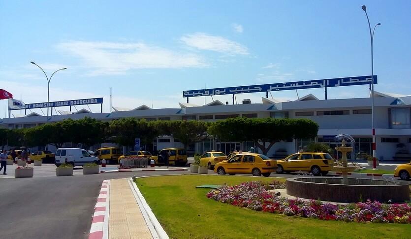 аэропорт монастир