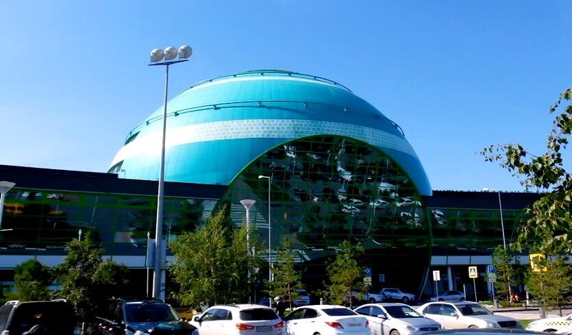 аэропорт в нур-султане