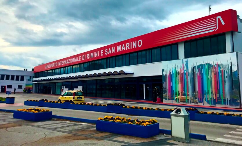 аэропорт римини и сан-марино