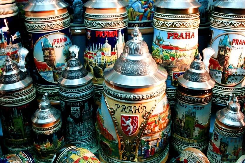 пивные сувениры в праге