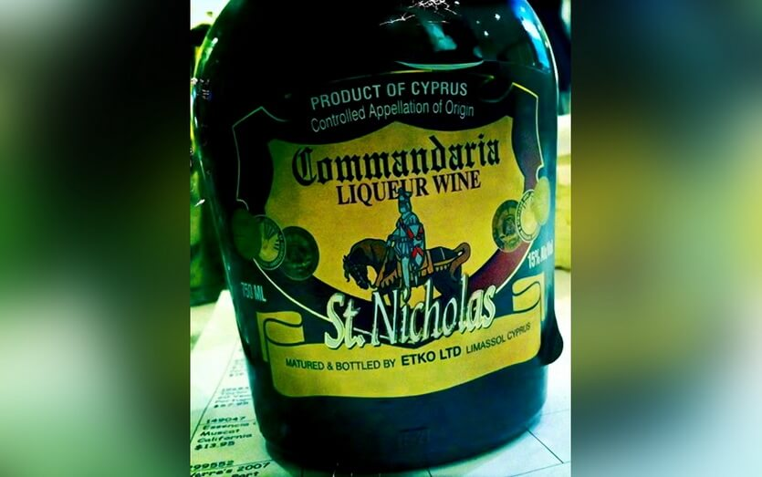 вина кипра коммандария