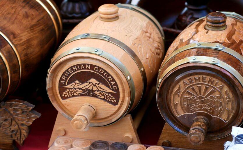армянские вина и коньяки