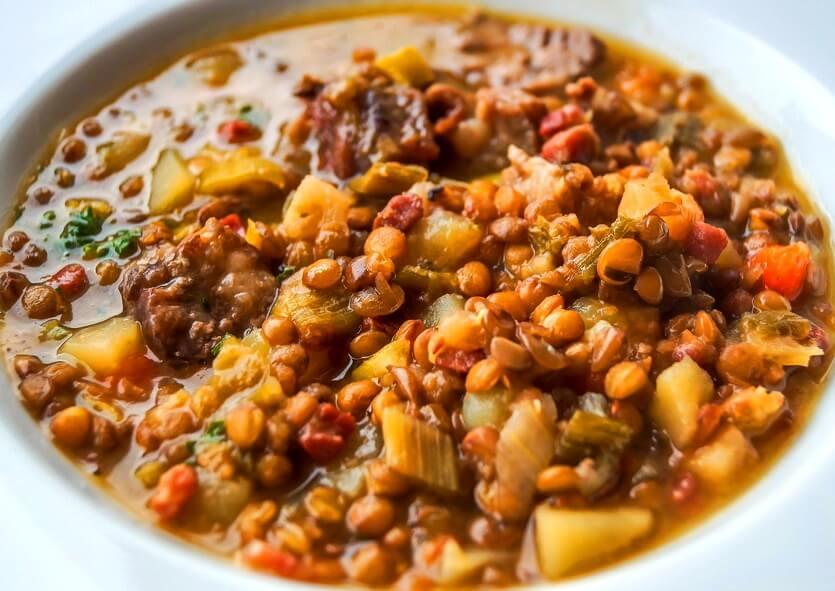 греческий суп факес