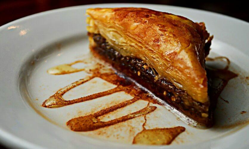 греческая кухня пахлава