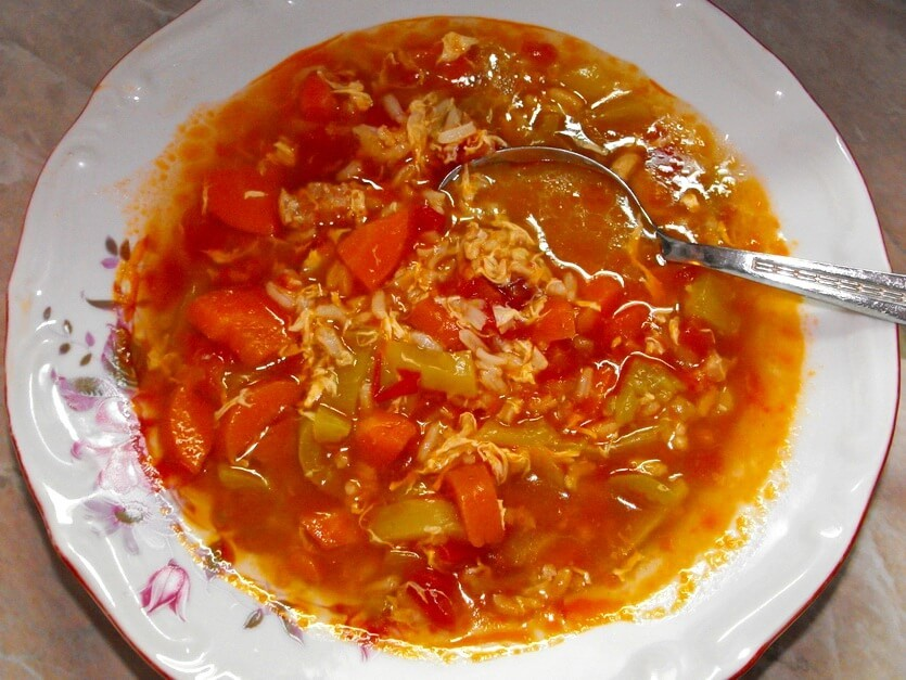 тунисский суп шорба
