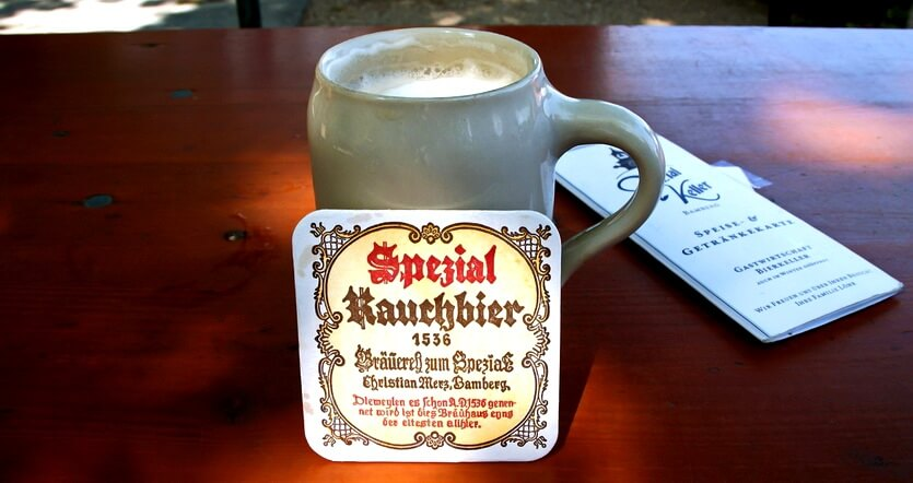 копченое пиво в германии