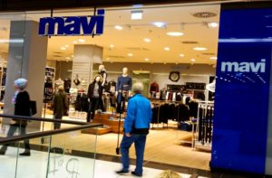 турецкий бренд mavi