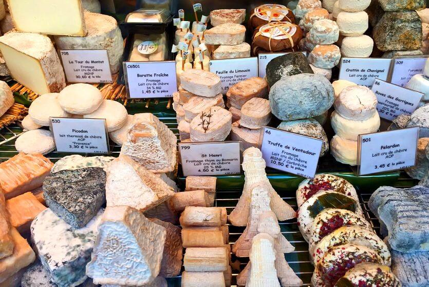 виды французского сыра