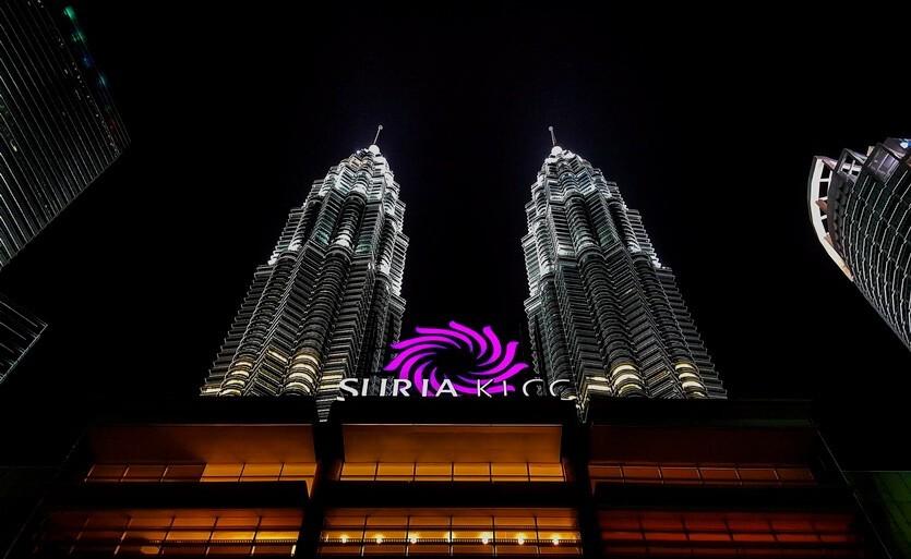 башни петронас трц suria малайзия
