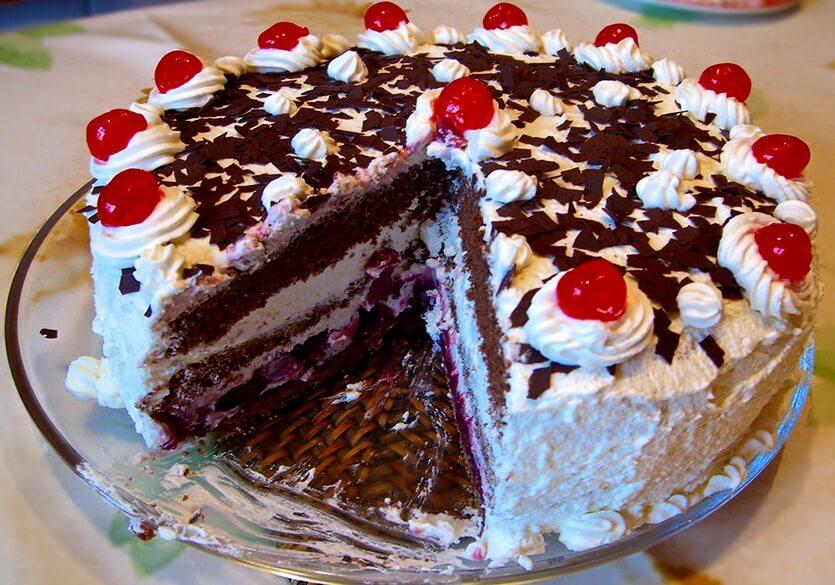 шварцвальдский торт германия