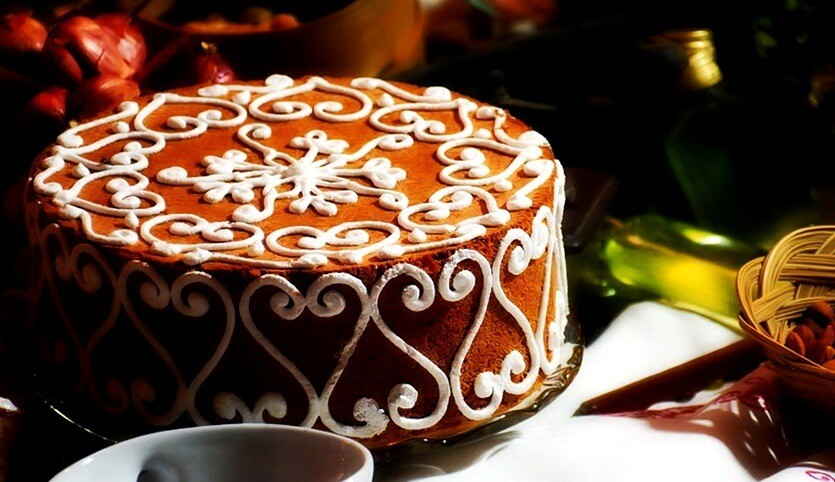 хорватский стонский торт