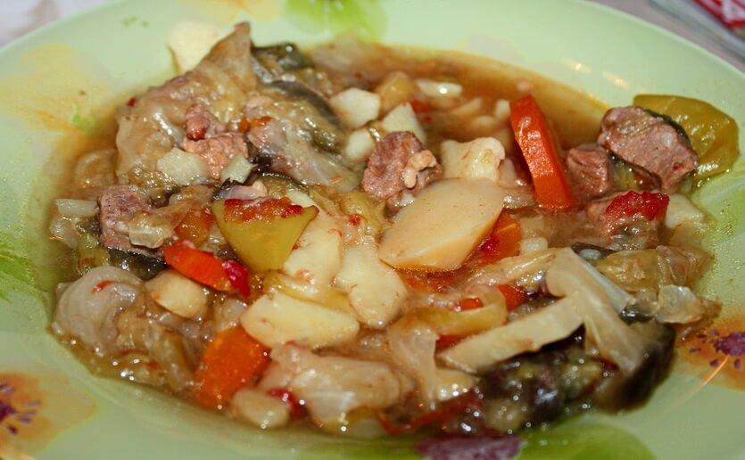 азу татарская кухня