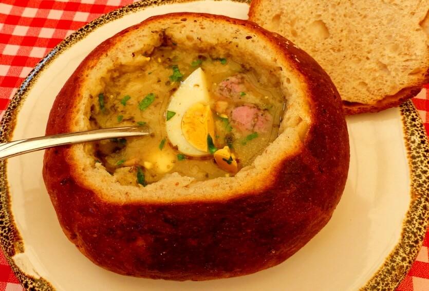 журек польский суп