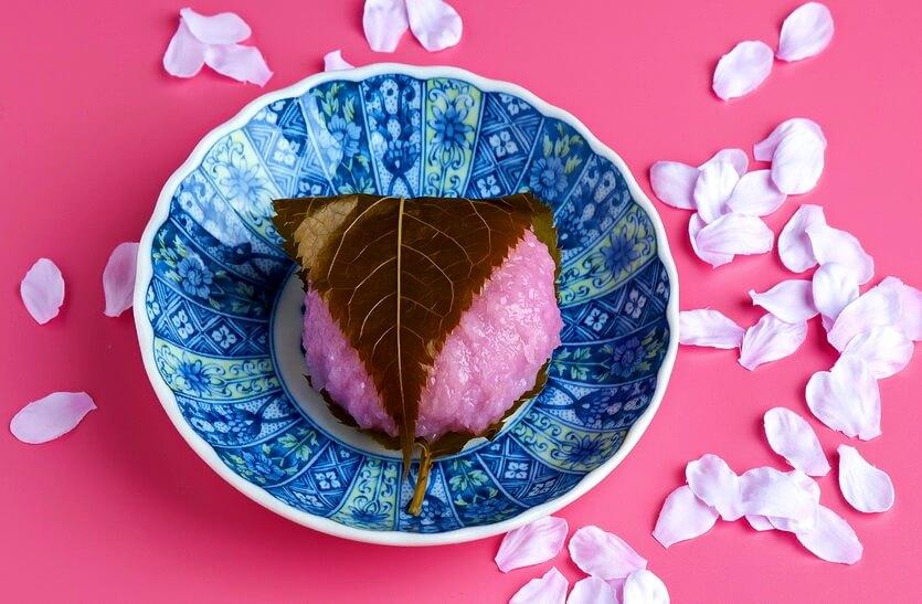традиционные сладости вагаси япония