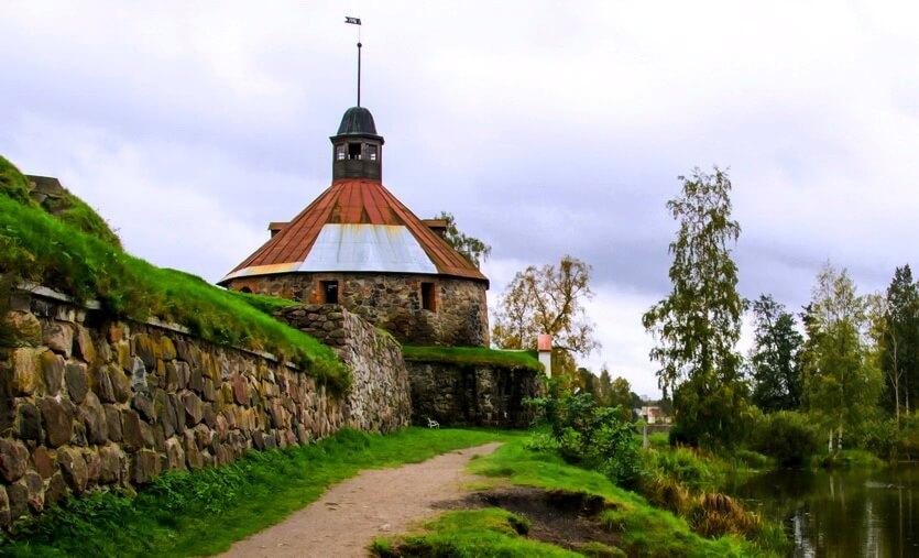 крепость карела приозерск