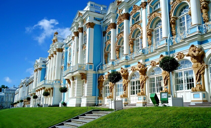 пушкин царское село питер