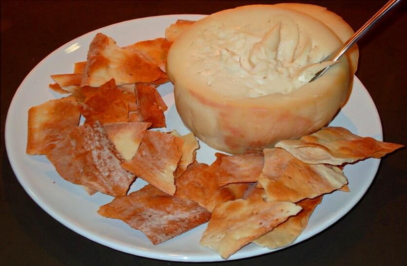сыр торта дель касар
