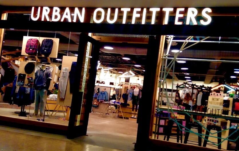 америка urban outfitters