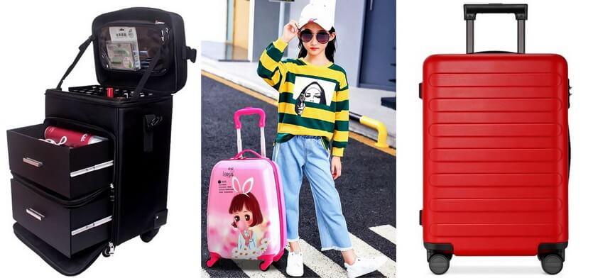 алиэкспресс чемоданы