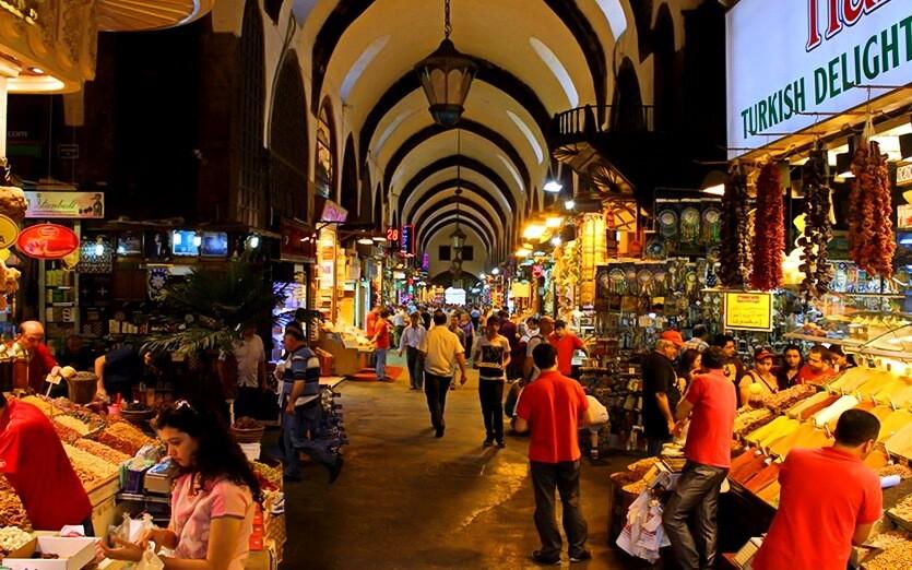 гранд базар стамбул турция