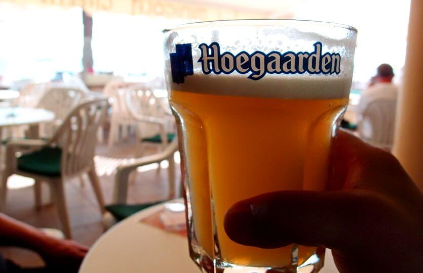 белое бельгийское пиво
