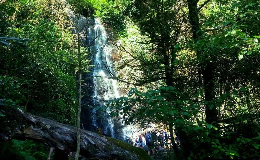 водопад мирвети