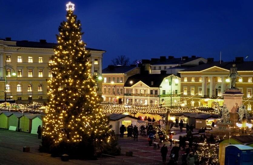 рождественская ярмарка хельсинки
