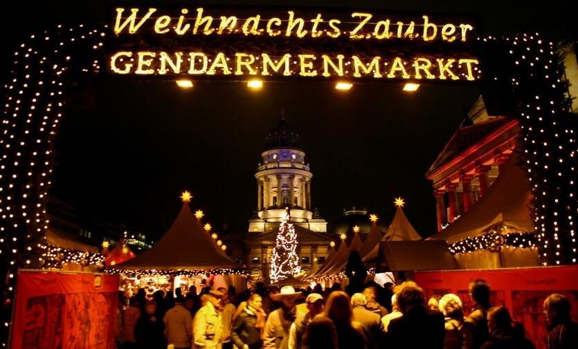 рождественская ярмарка берлин