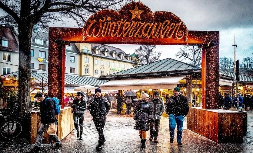 германия мюнхен зимой