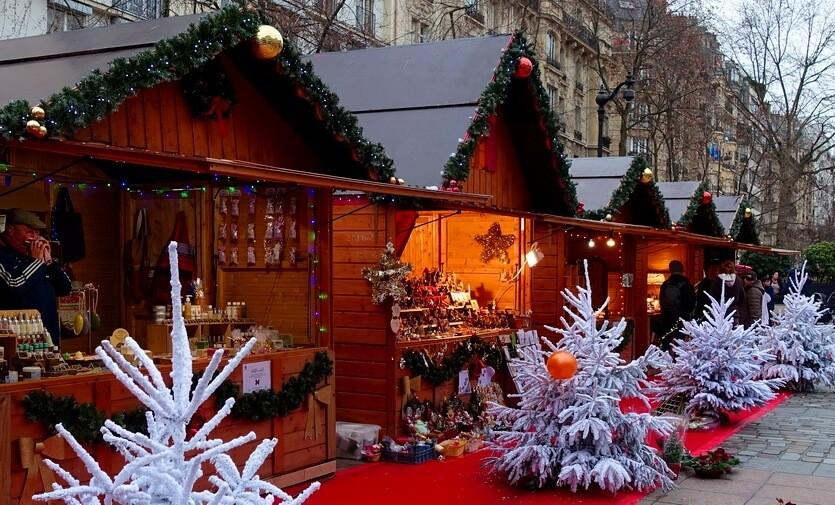 рождественские ярмарки парижа