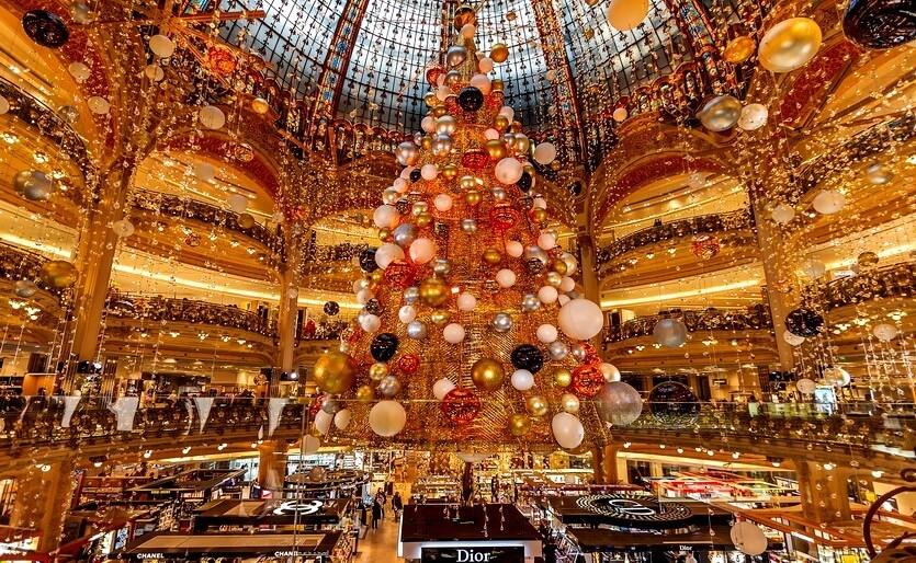 париж в рождество