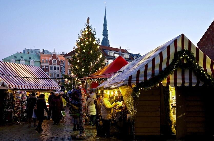 рига латвия рождество