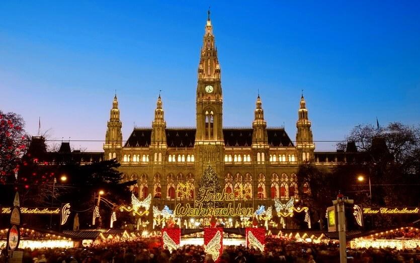 рождество в вене австрия