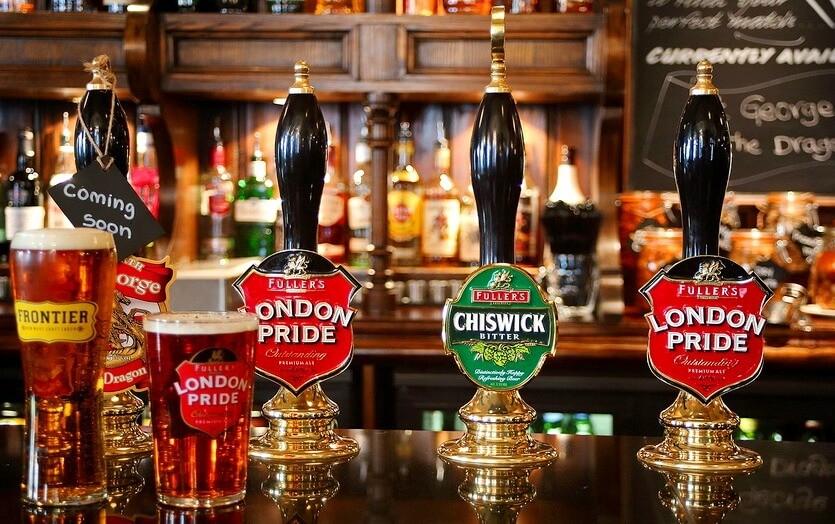 пиво лондон паб