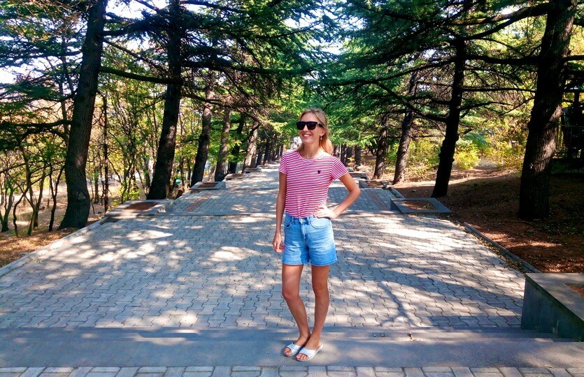 мтацминда парк тбилиси