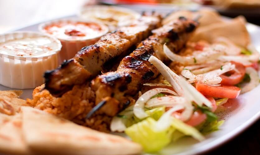 сувлаки кипрская кухня