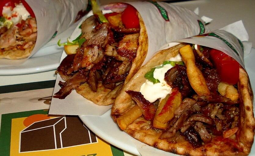 гирос кипрское блюда