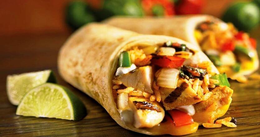 буррито мексиканская кухня