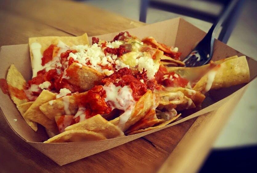 чилакилес мексиканское блюдо