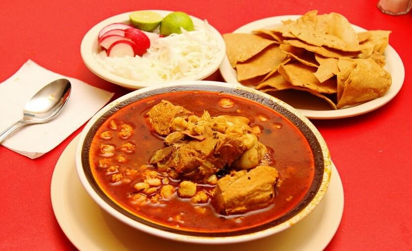 позоле мексиканский суп