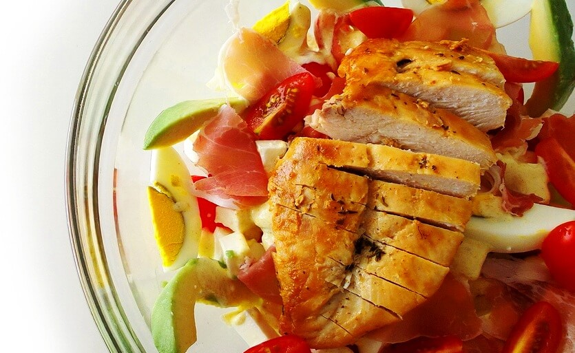 кобб американский салат