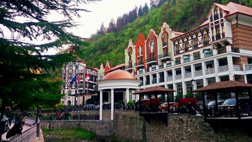 отели боржоми грузия