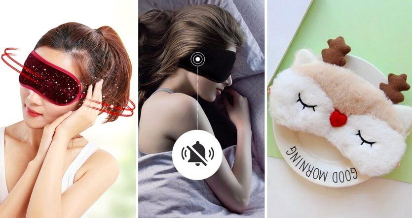 маски для сна алиэкспресс