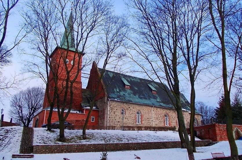 россия калининград зимой