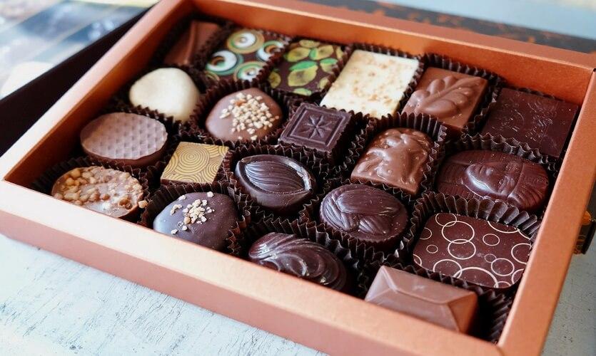 бельгийский шоколад конфеты